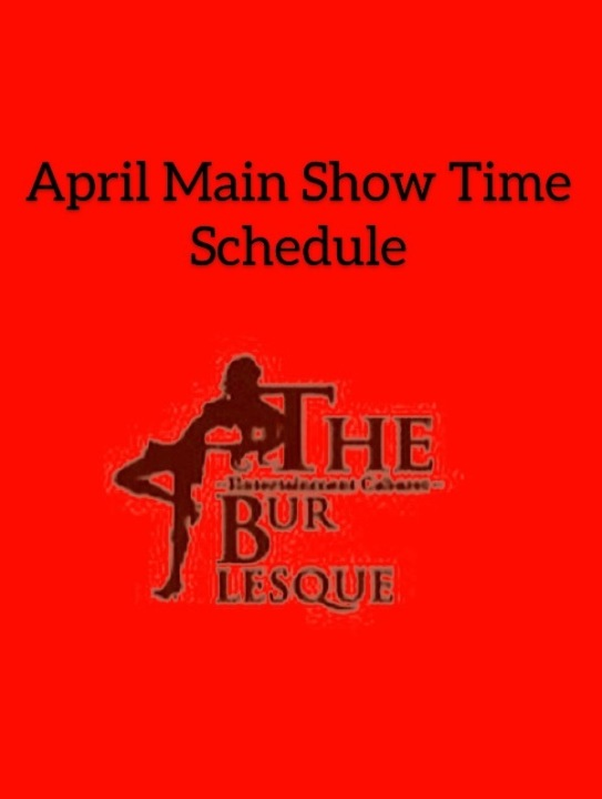 🎤 Main ShowTime Schedule 💃